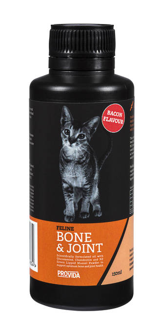 Feline Bone & Joint Oil with Bacon